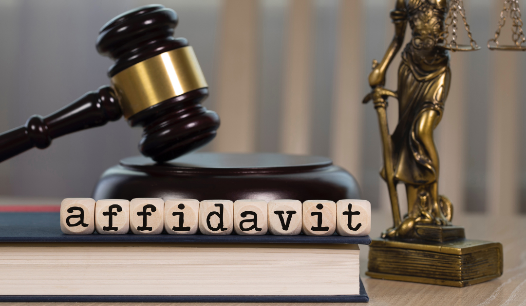 Affidavit re Real Property of Small Value